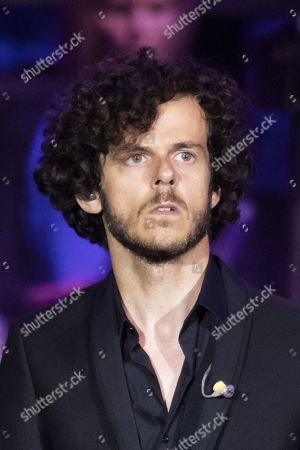 Editorial photo of Michael Gregorio in concert, Cannes, France - 10 Aug 2019