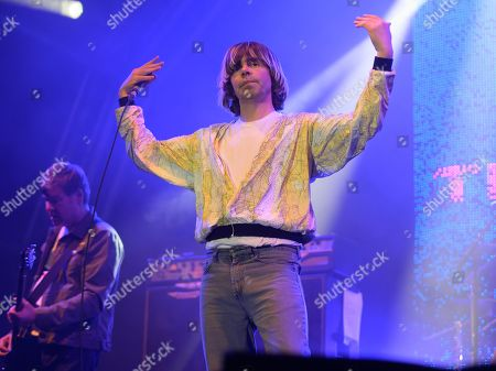 Stock Photo of The Charlatans - Martin Blunt and Tim Burgess