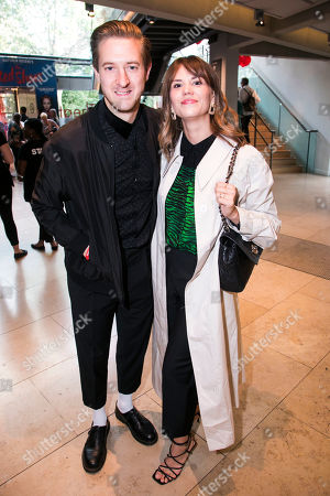 Arthur Darvill and Ines De Clercq