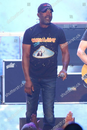 Darius Rucker of Hootie & the Blowfish performs at Madison Square Garden, in New York