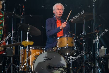The Rolling Stones - Charlie Watts