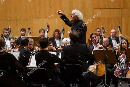 Editorial image of London Symphony Orchestra in concert, Santander, Spain - 11 Aug 2019