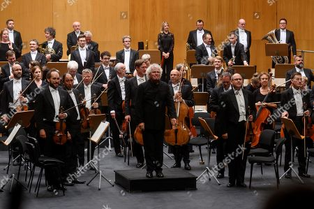 Editorial picture of London Symphony Orchestra in concert, Santander, Spain - 11 Aug 2019