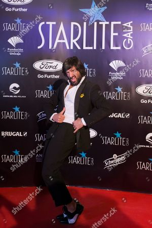 Flamenco dancer Rafael Amargo arrives to the Marbella's Starlite Festival charity gala held in Malaga, southern Spain, 11 August 2019.