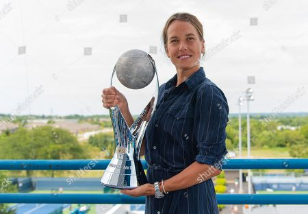 Barbora Strycova photocall, Western and Southern Open