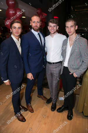 'Matthew Bournes Romeo and Juliet' play, After Party, London