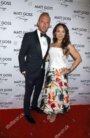 Stock Picture of Matt Goss, Mayte Garcia
