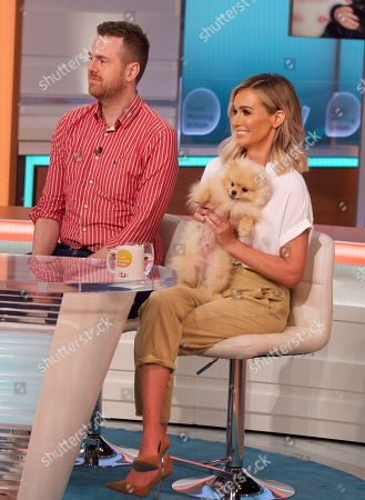 Editorial image of 'Good Morning Britain' TV show, London, UK - 12 Aug 2019