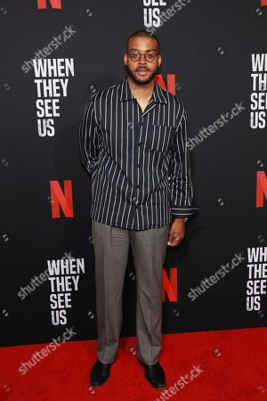 """Kris Bowers attends the """"When They See Us"""" FYC screening at Paramount studios on in Los Angeles"""