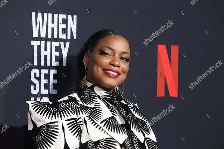 "Aunjanue Ellis attends the ""When They See Us"" FYC screening at Paramount studios on in Los Angeles"