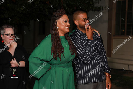 """Kris Bowers, Ava Duvernay. Kris Bowers and Ava Duvernay attend the """"When They See Us"""" FYC screening at Paramount studios on in Los Angeles"""