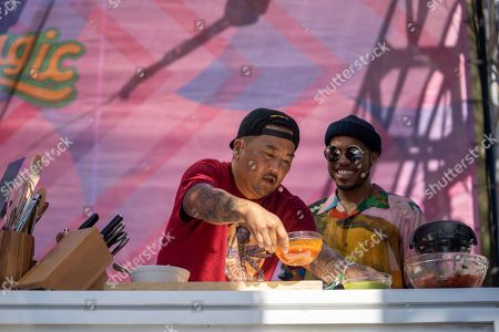 Anderson Paak and Roy Choi