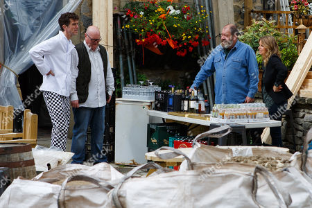 Ep 8574 Thursday 22nd August 2019 - 1st Ep It is not good for business shutting the pub so Charity Dingle, as played by Emma Atkins, starts making alternative plans.. With Marlon Dingle, as played by Mark Charnock ; Paddy Kirk, as played by Dominic Brunt ; Bear Wolf, as played by Joshua Richards.