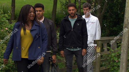 Ep 8563 Monday 12th August 2019 Drunk and humiliated about losing her job, Jessie is confronted by an accusing Nicola over what happened with Maya. Feeling backed into a corner, Jessie Dingle, as played by Sandra Marvin, delivers some angry home truths about the children of the village. After escorting Jessie outside, Marlon Dingle, as played by Mark Charnock, is horrified as she goes on to blame him for her outburst. Marlon, Jessie, Billy & Ellis walk home and Jessie continues to lash out at Marlon. With Ellis Chapman, as played by Asan N'Jie, Billy Fletcher, as played by Jay Kontzle.