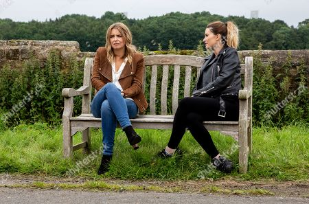 Ep 8565 Tuesday 13th August 2019 - 2nd Ep Debbie Dingle, as played by Charley Webb, leaves for Scotland but can Charity Dingle, as played by Emma Atkins, bring herself to say goodbye?