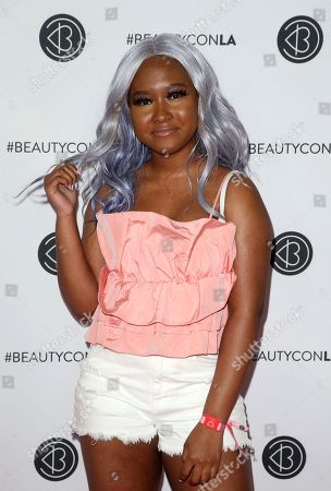 Editorial photo of Beautycon festival, Los Angeles, USA - 11 Aug 2019