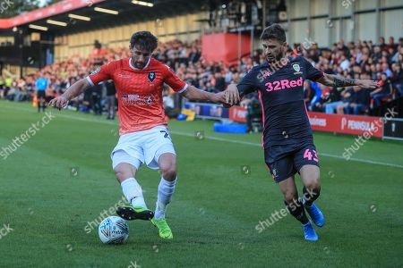 Editorial picture of Salford City v Leeds United, EFL Carabao Cup, First Round, Football, Moor Lane, UK - 13 Aug 2019