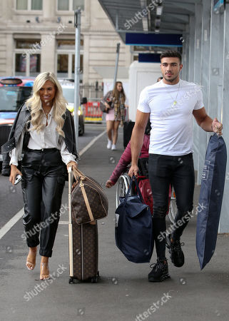 Molly-Mae Hague and Tommy Fury out and about, London
