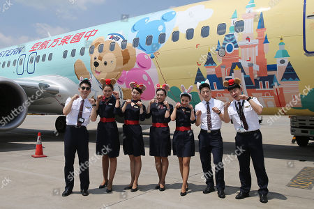 Fourth Disney-themed aircraft launched, Kunming city