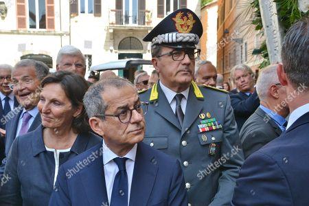 Stock Picture of Giovanni Tria