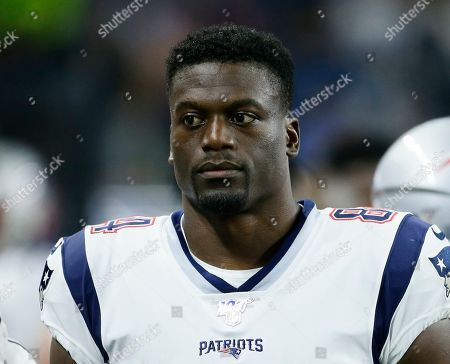 New England Patriots tight end Benjamin Watson (84) during the first half of a preseason NFL football game against the Detroit Lions, in Detroit