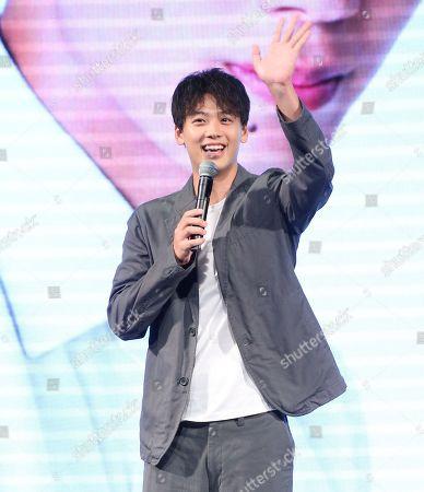 Editorial image of Ryoma Takeuchi fan meeting conference, Taipei,Taiwan - 11 Aug 2019