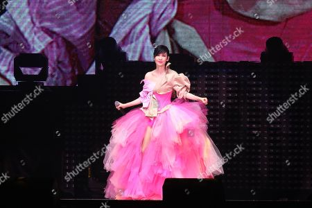 Editorial picture of Vivian Chow in concert at Taipei Arena, Taiwan - 10 Aug 2019