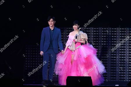Editorial photo of Vivian Chow in concert at Taipei Arena, Taiwan - 10 Aug 2019