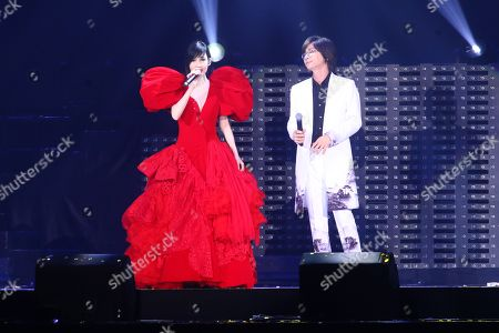 Editorial image of Vivian Chow in concert at Taipei Arena, Taiwan - 10 Aug 2019