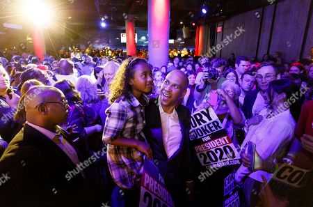 Editorial image of Senator Corey Booker campaigns in New York, USA - 12 Aug 2019