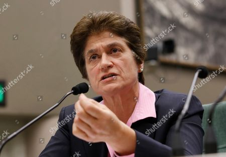 Stock Photo of State Auditor Elaine Howle discusses the audit her office released that found the California State University system did not disclose $1.5 billion in discretionary reserves while it raised tuition and cut employees' pay, during a joint legislative committee hearing in Sacramento, Calif., . Timothy White, chancellor of the California State University system, told legislators the state's reserves are important to front financial aid for students, pay for capital projects and act as a cushion in case of a recession