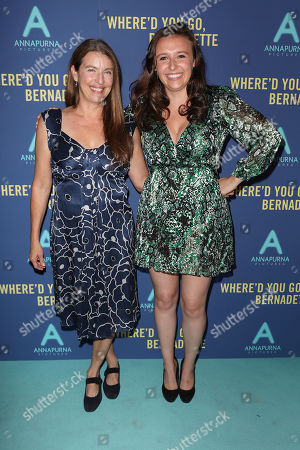 """Editorial picture of World Premiere of """"WHERE'D YOU GO, BERNADETTE"""", New York, USA - 12 Aug 2019"""