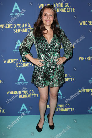 "Editorial photo of World Premiere of ""WHERE'D YOU GO, BERNADETTE"", New York, USA - 12 Aug 2019"