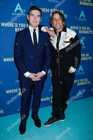 Richard Linklater and Billy Crudup