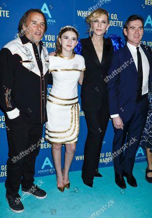 Richard Linklater, Emma Nelson, Cate Blanchett and Billy Crudup