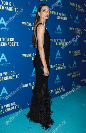 Editorial photo of 'Where'd You Go Bernadette' film screening, Arrivals, Metrograph Theater, New York, USA - 12 Aug 2019