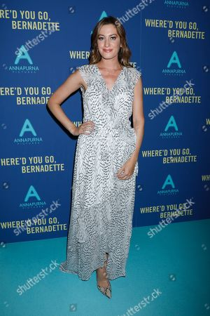 Editorial image of 'Where'd You Go Bernadette' film screening, Arrivals, Metrograph Theater, New York, USA - 12 Aug 2019