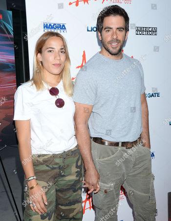 Lorenza Izzo and Eli Roth