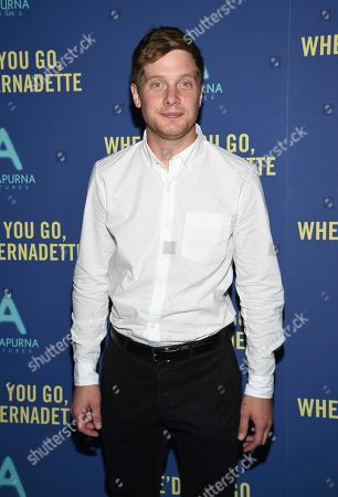 "Josh Caras attends a special screening of ""Where'd You Go, Bernadette"" at Metrograph, in New York"