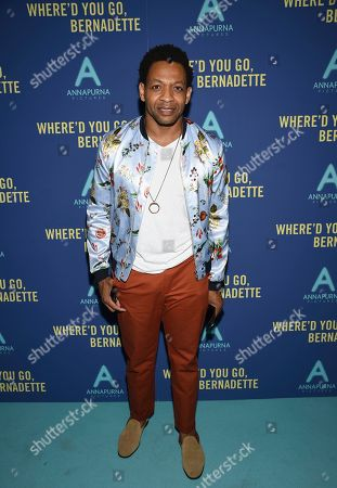 """Derrick Baskin attends a special screening of """"Where'd You Go, Bernadette"""" at Metrograph, in New York"""