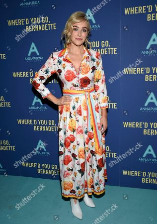"Betsy Wolfe attends a special screening of ""Where'd You Go, Bernadette"" at Metrograph, in New York"