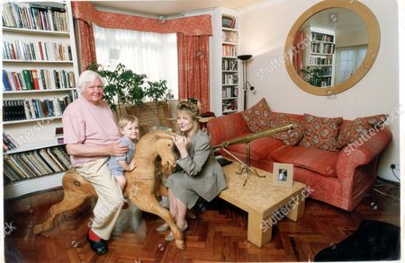 Ken Russell His Wife Hetty And Son Rex In Their Home Off The Marylebone Road.