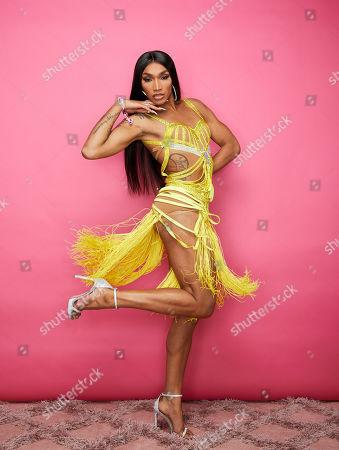 Editorial photo of Beautycon Festival, Portrait Studio, Day 1, Los Angeles, USA - 10 Aug 2019