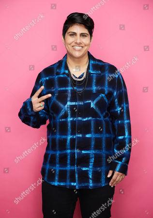 Editorial picture of Beautycon Festival, Portrait Studio, Day 2, Los Angeles, USA - 11 Aug 2019