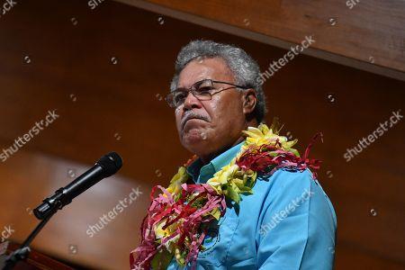 Editorial picture of Pacific Islands Forum in Funafuti, Tuvalu - 13 Aug 2019