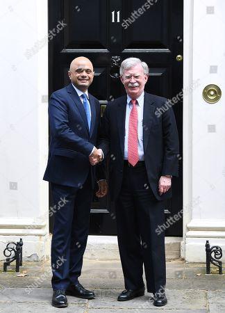 John Bolton visit to London