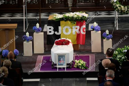 Funeral of cyclist Bjorg Lambrecht, Knesselare