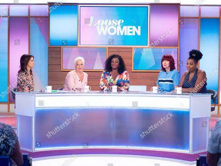 Andrea McLean, Denise Welch, Sandra Marvin, Janet Street-Porter, Brenda Edwards