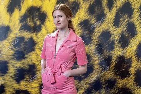 Agathe Bonitzer poses during a photocall for 'Les enfants d'Isadora' at the 72nd Locarno International Film Festival, in Locarno, Switzerland, 13 August 2019. The Festival del film Locarno runs from 07 to 17 August.