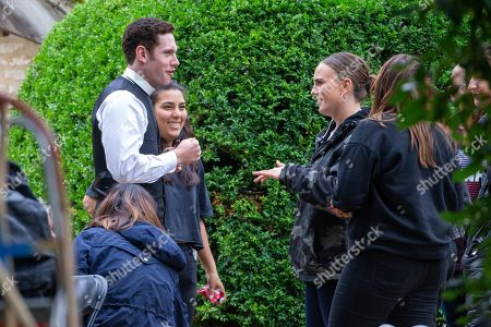 Tom Brittney on the first day of filming for Series 5 of the ITV drama Grantchester